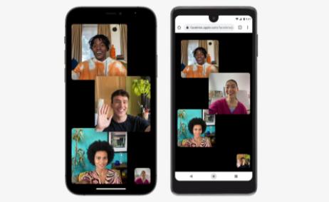 Apple iOS 15 FaceTimes
